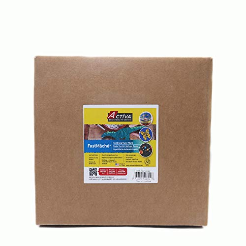 ACTIVA Fast Mache Fast Drying Instant Papier Mache - 24 pounds