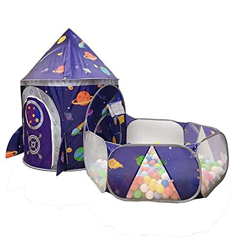 LINGLING Juguetes de exploración Tiendas de campaña para niños, Pop Up Tienda de Juegos Plegable con Casita Infantil, Tunel Infantil, Piscina de Bolas Regalos de cumpleaños/Navidad