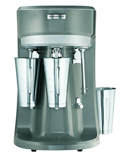 Hamilton Beach Commercial HMD400-CE Triple-Spindle Getränk Mixer, Grau