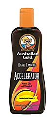 Australian Gold AGDTA250lot Dark Tanning Accelerator Lotion WITHOUT Bronzer (1x 250ml)