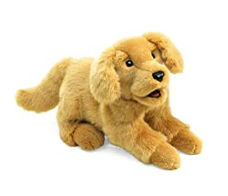 Folkmanis Golden Retriever Puppy Hand Puppet