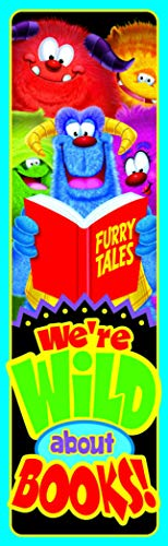 Trend Enterprises Wild About Books Bookmarks, Multicolors, Pack of 36