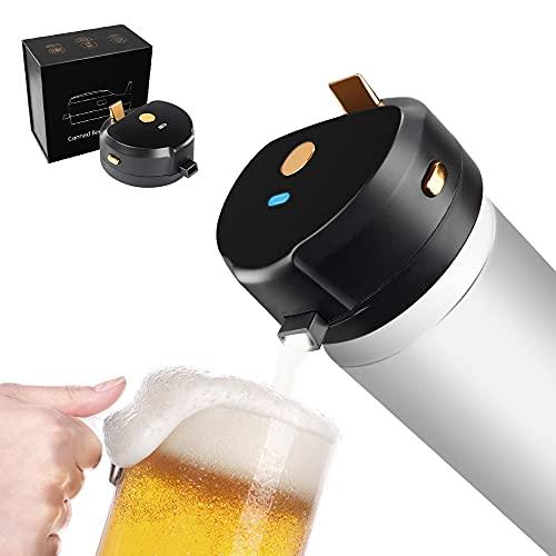 Máquina ultrasónica de espumador Cerveza, Cremosa Espuma Servidor, Dispensador de Cerveza, Espumador de Espuma de Cerveza en Lata, Portátil Vibración Ultrasónica