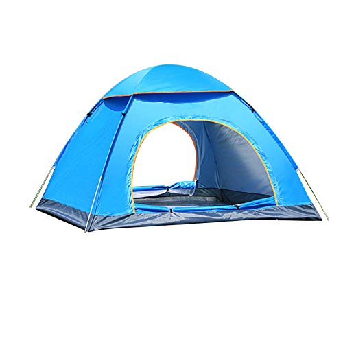 Ziyi Blow Up Tent,pop-up Tents,Fully Automatic Tent For Outdoor Camping,quick To Open And Set Up,silver Coated And Sunscreen,lightweight And Portable,ventilated And Breathable