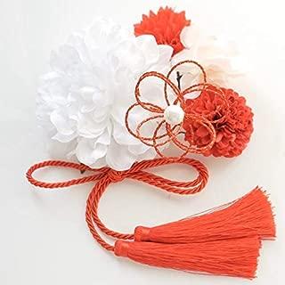 【選べる11色展開】髪飾り6点セット 着物 浴衣 卒業式 和装 袴 成人式 結婚式 七五三にD