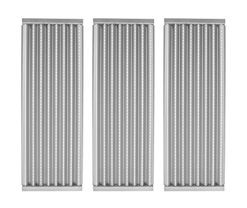 EasiBBQ 3-Pack Stainless Steel Emitter Plates for Char-Broil Commercial, Signature, or Professional Series TRU-Infrared Gas Grills