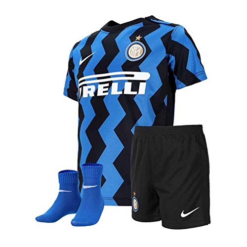 Nike Inter I NK BRT Kit HM Set, Kinder, Blue Spark/White, 24-36