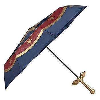 Compact Wonder Woman Umbrella Molded Handle DC Comics Umbrella