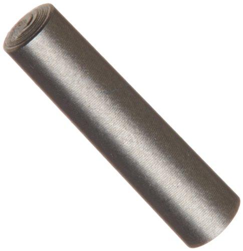 18-8 Stainless Steel Taper Pin, Plain Finish, Meets ASME B18.8.2, Standard Tolerance, #3/0 Pin Size, 0.125
