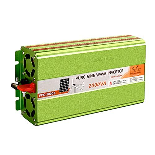 Inversor De Corriente De 500W Onda Sinusoidal Pura DC 12V A 220V Adaptador De Inversor De Enchufe Para Automóvil Con Toma De Corriente CA Y Puerto USB,Utilizado Para Emergencias Del Sistema SolarDe RV