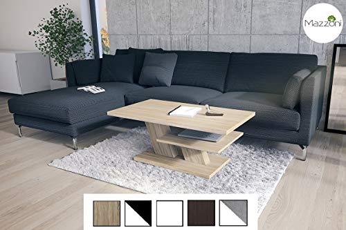 Design Couchtisch Cliff Sonoma Eiche Tisch Wohnzimmertisch 110x60x45cm mit Ablagefläche