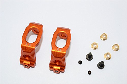 HPI Sport 3 Flux Upgrade Pièces Aluminium Front C-Hub - 1Pr Orange