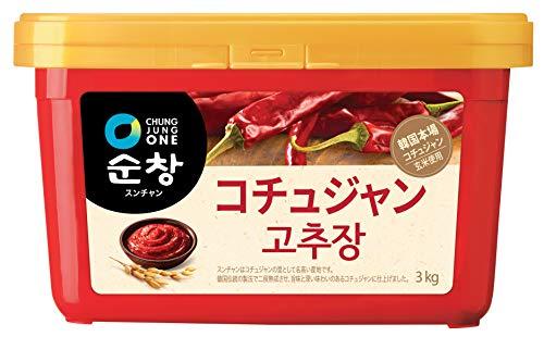 コチュジャン 韓国 スンチャン 3kg 韓国調味料 韓国食品 業務用 調味料