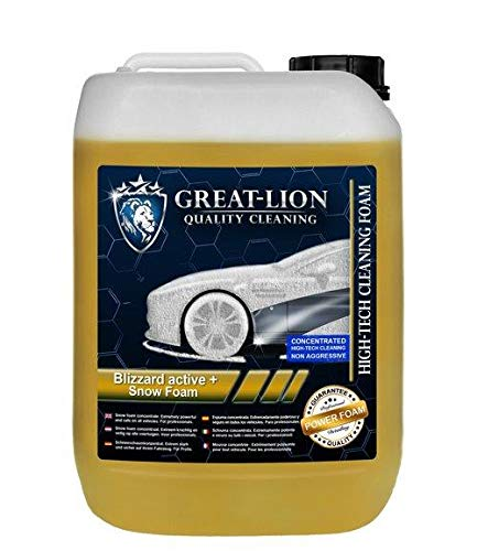 Great Lion Blizzard Active + Snow Foam Brushless Cleaning 5 L Kanister