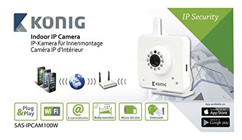 König SAS-IPCAM100W Ip-camera Binnen Vga Wit