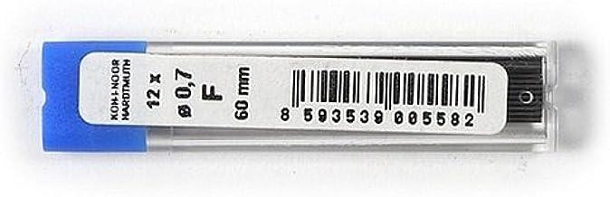 KOH-I-NOOR Fine Graphite Leads for 0.7mm Diameter 60mm F Mechanical Pencil