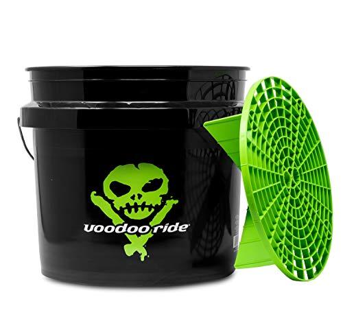 detailmate Auto Wasch Set: Voodoo Ride: Bucket 12L Made by GritGuard & Schmutzeinsatz