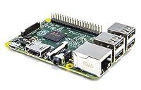 Carte mère Raspberry Pi Type B Modèle 2 Processeur ARM Cortex-A7 de 900 MHz Mémoire RAM intégrée de 1 Go Contrôleur graphique Broadcom VideoCore IV Ports disponibles : 4 x USB, 1 x HDMI, 1 x RJ45 Lecteur de cartes mémoire micro SD Sortie audio Jack (...