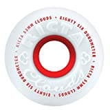 Value not found Ricta Unisex Adult Clouds 86A 86a Ditch Formula. This is A Soft Cruiser Wheel. Great for Rough Roads or Filming. - White/Red, 53mm