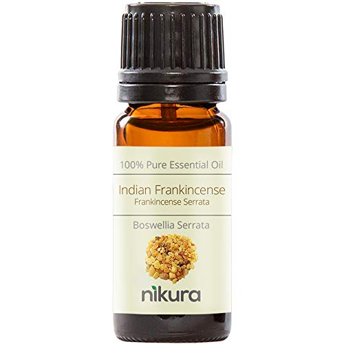 Nikura 100% Pure Indian Frankincense (Serrata) Essential Oil 10ml, 50ml, 100ml (10ml)