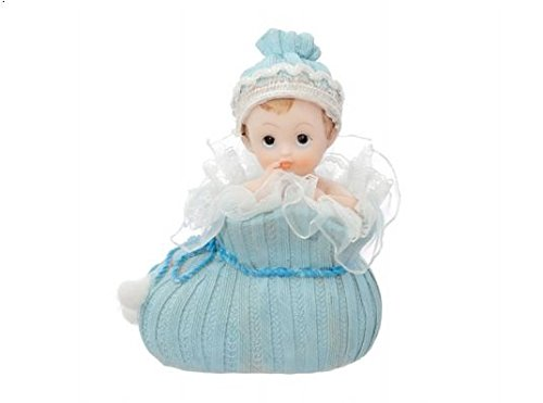 PartyDeco DF1C–Tortendeko Junge im Babyschuh