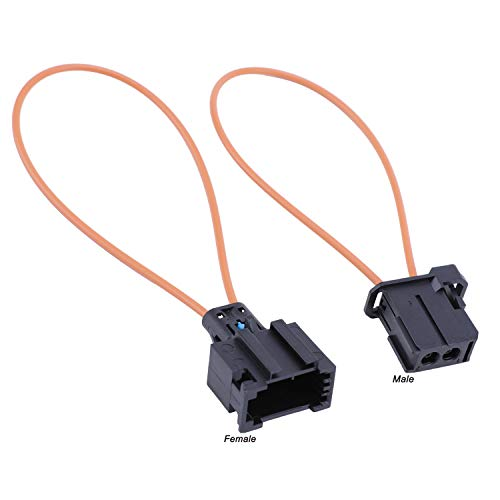 Juerly Most Fiber Optic Optical Loop Bypass Female & Male Adapter Universal Connector for Radio and Audio Mercedes BMW VW Audi Porsche SOS FIX