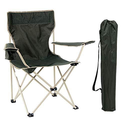 SPTAIR Sillón portátil plegable al aire libre para acampar: fuerte, cómodo e incluye bolsa de transporte gratis - Soporta hasta 330 libras con bolsa de transporte para acampar, pescar, caminar, jardín