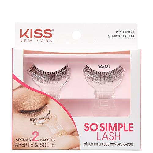 Cílios So Simple Lash 01, Kiss New York
