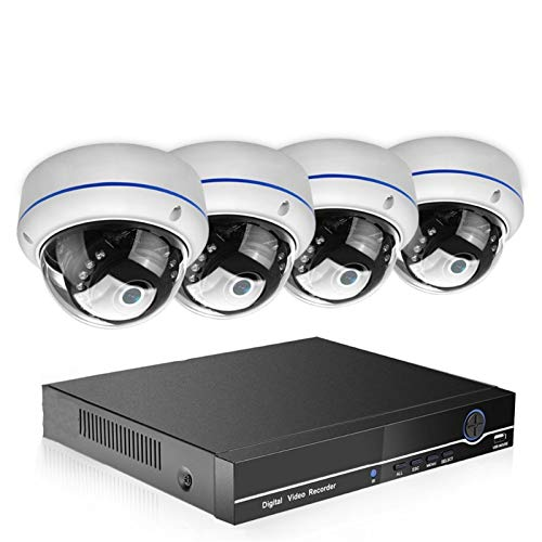 Cámara 8CH 1080P PoE NVR Sistema DE Seguridad CCTV 4PCS 2.0MP 3.0MP Audio Registro IP Cámara P2P IR P2P Kit de videovigilancia al Aire Libre 2TB HDD Vigilancia