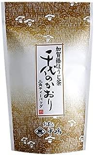 中嶋茶舗 芳ばしい香りのお茶 加賀棒ほうじ茶 千代のかおり ティーバッグ(ヒモ付三角)3gx15ヶ