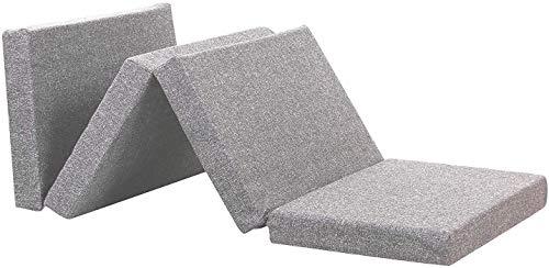 SUGANDHA 2 inch Single Folding Pure EPE Foam Mattress Bed for Travel, Picnic (Medium, 72X35X2)
