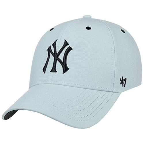 47 Brand Aerial MVP Yankees Cap Strapback Curved Brim Basecap Baseballcap, MLB New York NY (One Size - hellblau)