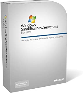Microsoft Windows Small Business Server 2011 CAL Suite - Licence - 1 user  (This OEM software is intended for system builders only)
