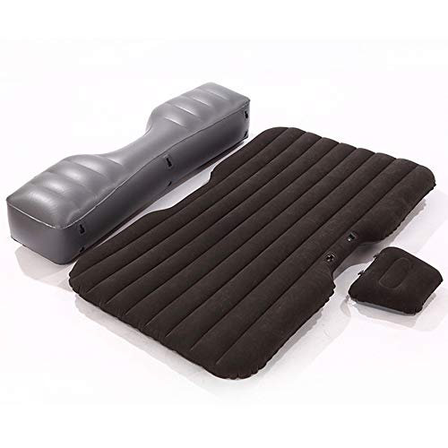 YDZS Split Car Air Mattress, Mattress Travel Bed, Car Rear Seat Folding Inflatable Bed Outdoor Air Cushion, SUV/MPV/RV One Bed Multi-Purpose Portable Camping Bed