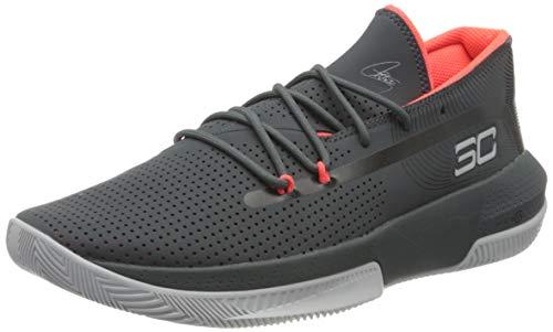 Under Armour Herren 3022048-102_41 Basketball Shoes, Grey, EU