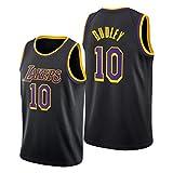 Jersey de Baloncesto para Mujer para Hombres, Dudley # 10 Lakers Polyester Refrescante de Baloncesto Transpirable, Chaleco sin Mangas (S ~ 2XL) XXL