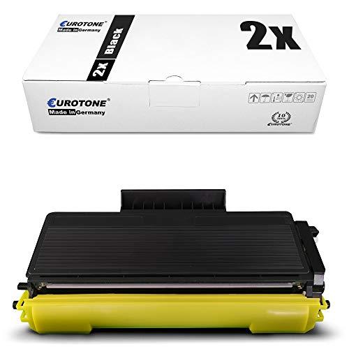 2X Eurotone Toner für Brother MFC 8370 8380 8880 8885 8890 DW DN DLT ersetzt TN3280