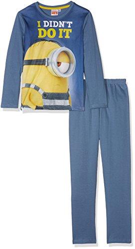 les minions Jungen 161950 Zweiteiliger Schlafanzug, Bleu, 6 Jahre