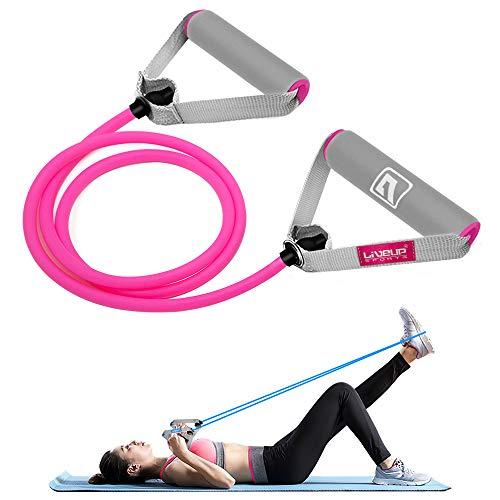 Liveup Sports Resistance Fitnessbändern mit Türanker, Gymnastikbänder Strecken Expander Für Krafttraining und Fitness und Hüfte Beine Crossfit Männer Frauen