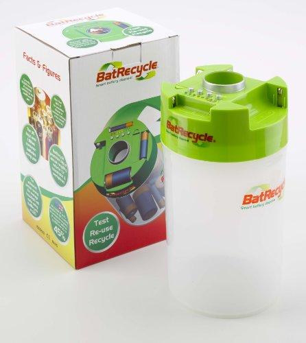 BatRecycle - Batterie Verwertend Behälter mit gebaut in Prüfer wieder