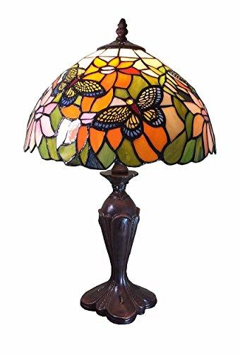 Graf von Gerlitzen Tiffany Stand Tisch Lampe Tischlampe Tiffanylampe GN922