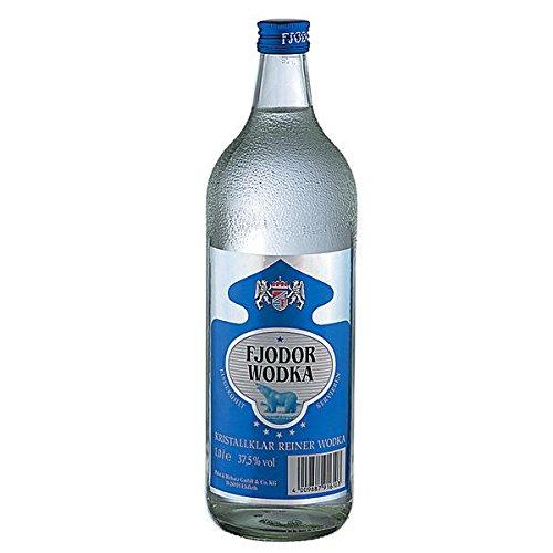 Fjodor Wodka 6er Pack 6 x 1 L
