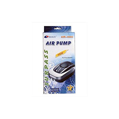 Aquarline Air 4000Twin Outlet Air Pumpe, 320Liter/Stunde