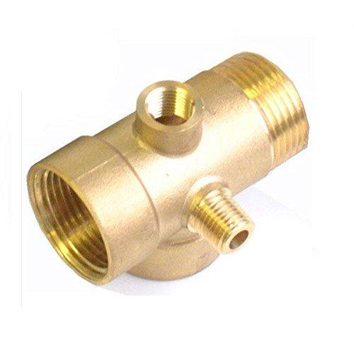 5-Wege-Messing pumpen R5 Fittings Anschluss für Druckbehälter und Manometer 1