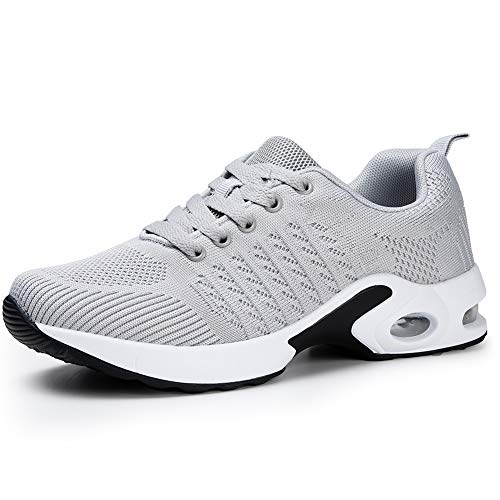 Women Running Shoes Air Cushion Mesh Comfortable Gym Casual...