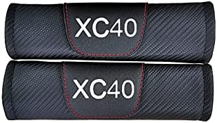 Baltimore Mall BICCQ Fit Excellence for Volvo Xc40 Carbon Seat Car Fiber Belt Pads Leather