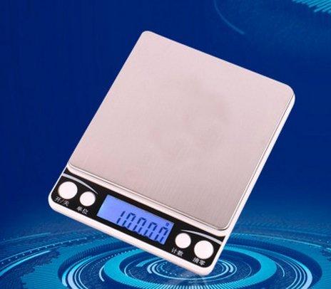 Balance électronique de précision de 001 g de boulangerie balance les bijoux de la balance de cuisine de 01 g appelé balance électronique connu sous le nom de nourriture