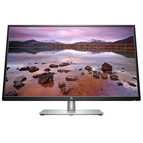 HP 32s Monitor - 32 Zoll Bildschirm, Full HD Display, 60Hz, HDMI, VGA, 5ms Reaktionszeit, schwarz