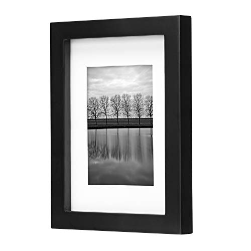Gallery 5' x 7' Picture Frame, Black, Set of 4
