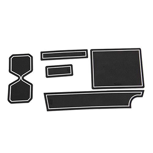 ジムニー JB64W/JB74W ドアポケットマット 蓄光 5枚 ゴムゴムマット インナー 滑り止めマット 水洗いOK 内装 パーツ カスタム ドレスアップ JIMNY